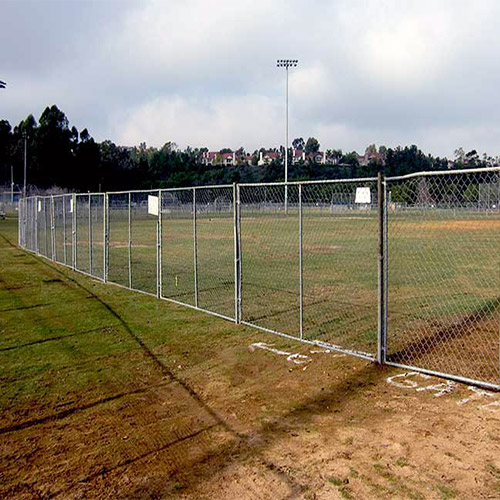 CA Temporary Fence